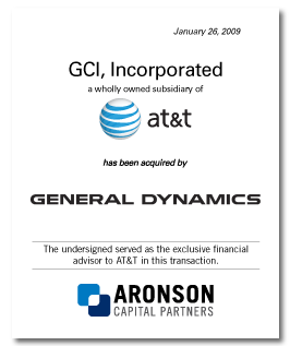 GCI Incorporated (a wholly owned subsidiary of AT&T) has been