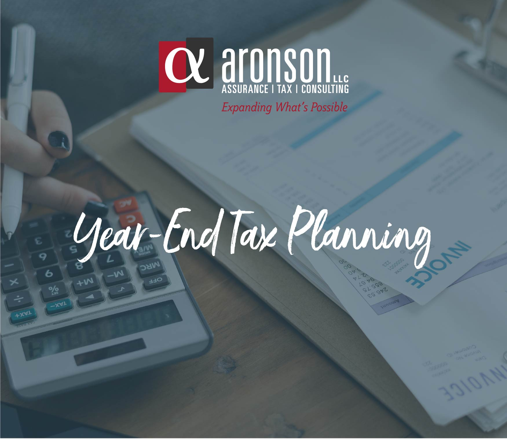 Significant 2018 Year-End Tax Planning Opportunities For